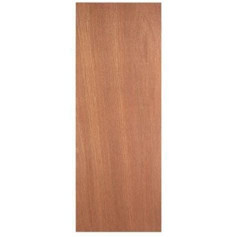 smooth flush hardwood solid core unfinished composite interior door slab 605093 the home depot