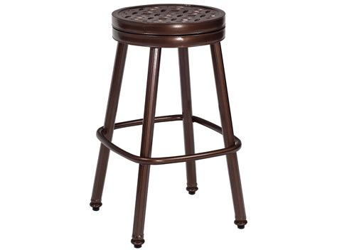 replacement bar stool covers woodard casa round swivel bar stool replacement cushions 3y0668ch