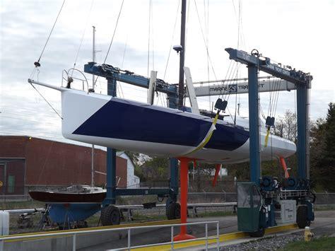 atlantic design center york maine maine yacht center refits vendee globe boat maine built