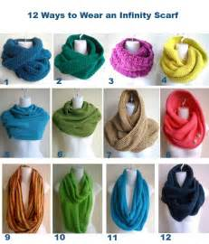 Different Ways To Wear Infinity Scarf How To Wear An Infinity Scarf 12 Ways 40 50