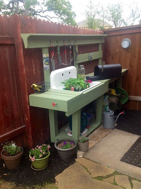 garden bench with sink 25 best ideas about old sink on pinterest garden table