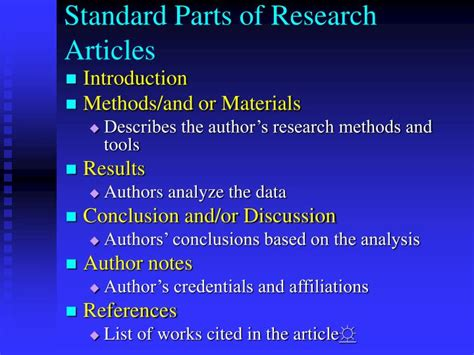 what are the different parts of a research paper ppt clovis center library presents powerpoint
