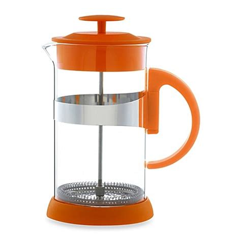 french press bed bath and beyond buy grosche zurich 8 cup french press in orange from bed bath beyond