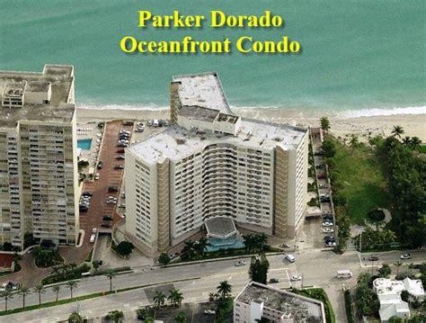 just listed two parker dorado ocean beach front condos