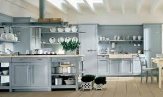 Light Blue Kitchen Ideas Light Blue Country Kitchen Interior Design Ideas