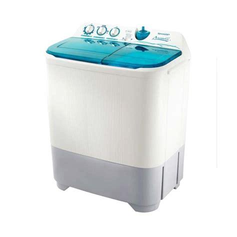 Mesin Cuci Sharp T95cr jual sharp es t95cr mesin cuci 2 tabung harga kualitas terjamin blibli