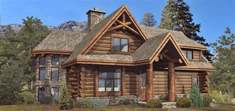 gorgeous blueprints for 2500 sqft log home 171 the log builders