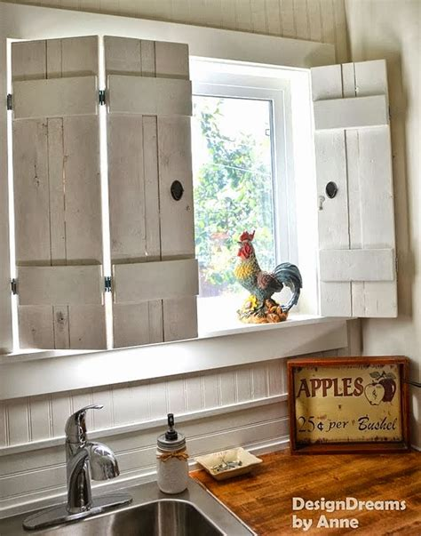kitchen window shutters interior i love that junk make charming window shutters for 10