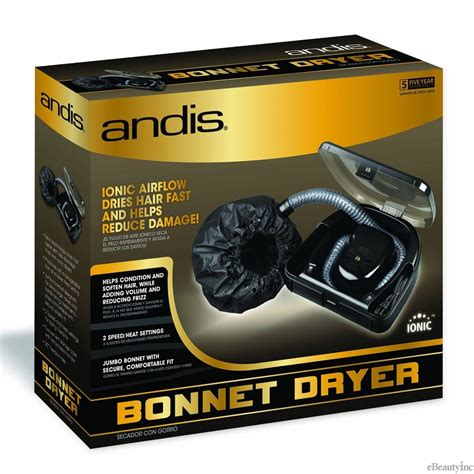 Andis Hair Dryer Bag andis professional ionic bonnet hair dryer 80610 hair