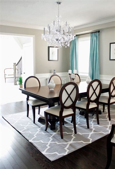 dining room rug ideas am dolce vita dining room chandelier reveal
