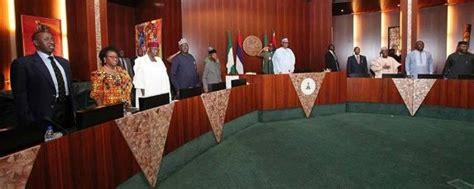 tradeback throwback house of m outright geekery photos pres buhari presides over federal executive council meeting