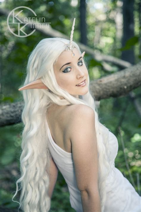 female elf white hair cosplay mg 0179logo my style pinterest costume makeup