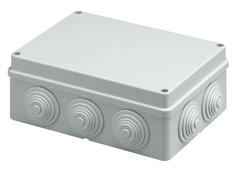 Junction Box 88x88x47mm Ip55 with cable outlet ip55 junction box 190x140x70mm v55107