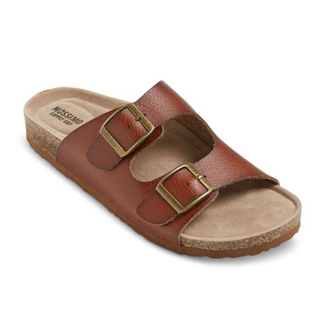 target womens sandals womens bailey two buckle footbed sandals cheaper