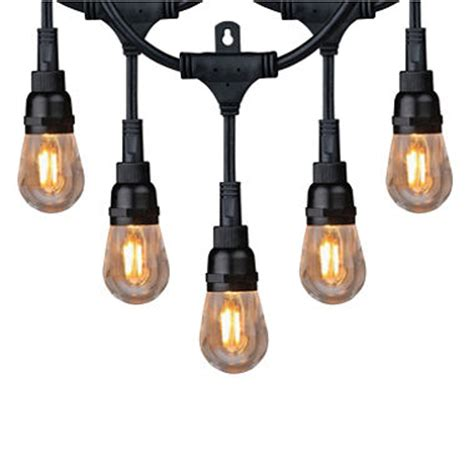 Commercial Grade Outdoor Lighting Honeywell 36 Commercial Grade Led Indoor Outdoor String Lights Sam S Club