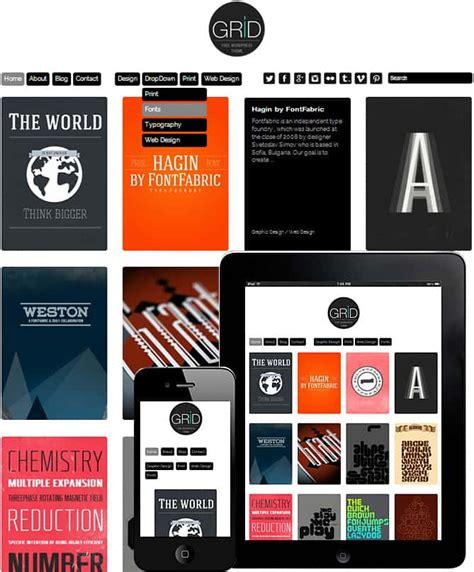 grid layout free wordpress theme premium premium portfolio responsive wordpress themes
