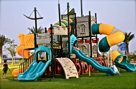 play area for kids in backyard outdoor kids play area located inside marjan resort dubaicravings com