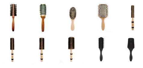 Hair Brush Types by How To Choose Your Hair Brushes Stylenoted