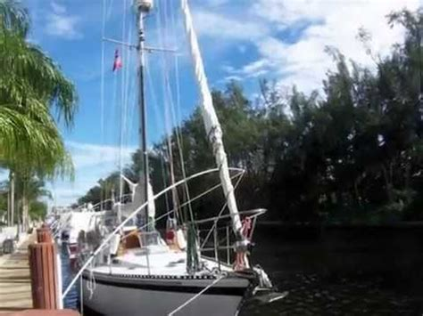 sailboat years 36 ft vancouver robert harris design cruising sailboat