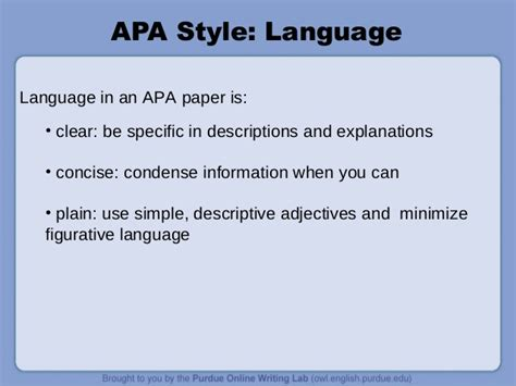 apa formatting and style guide powerpoint apa powerpoint