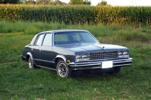 find used 1983 chevrolet malibu classic sedan 4 door 3 8l