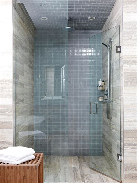 bathroom shower tile ideas  homes gardens