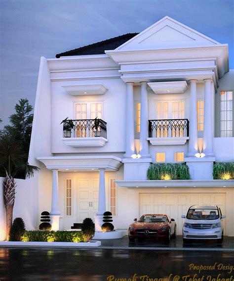 desain tak depan rumah eropa model rumah klasik idaman yang megah dan menawan arsitag