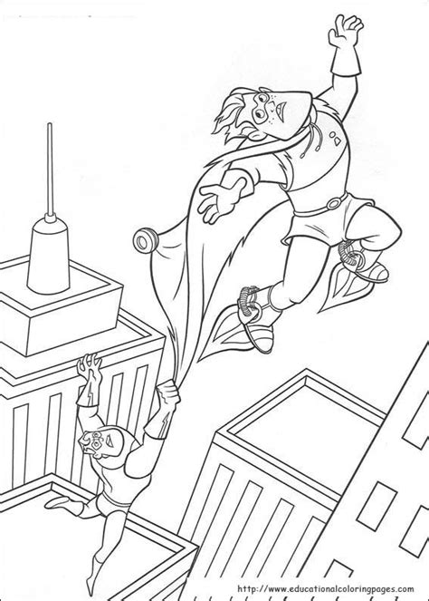 The Incredibles Coloring Pages - Educational Fun Kids
