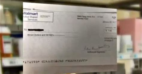 Walmart Background Check Company Walmart Sends Out Real Refund Checks Tell Receivers They Re Phony