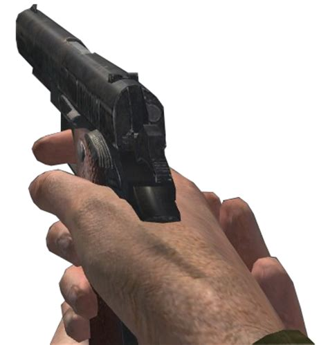 Call Of Duty 45 image colt 45 cod2 png call of duty wiki wikia