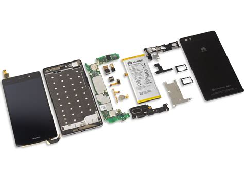 Baterai Huawei Honor 4c Battery Log On Power Ic huawei p8 lite teardown ifixit