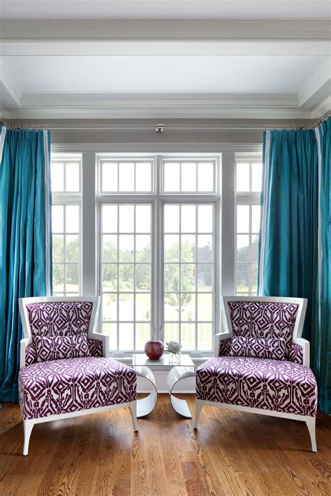 Turquoise Living Room Curtains Designs Photos Hgtv