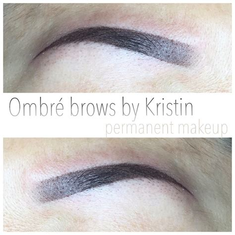 ombr 233 eyebrow tattoo by kristin 300 yelp