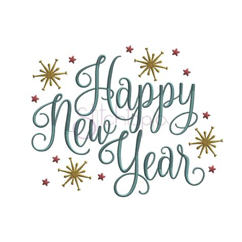 new year embroidery design happy new year embroidery design stitchtopia