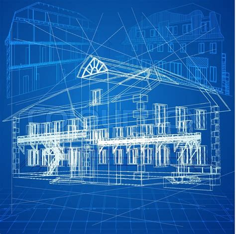 blueprint design free 8 vector architecture blueprints images free vector