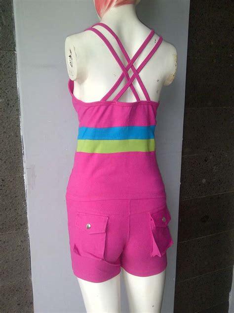 Baju Senam Baju Baju Fitness Baju Aerobik Baju Wanita Black harga baju senam aerobik murah meriah harga baju senam aerobik