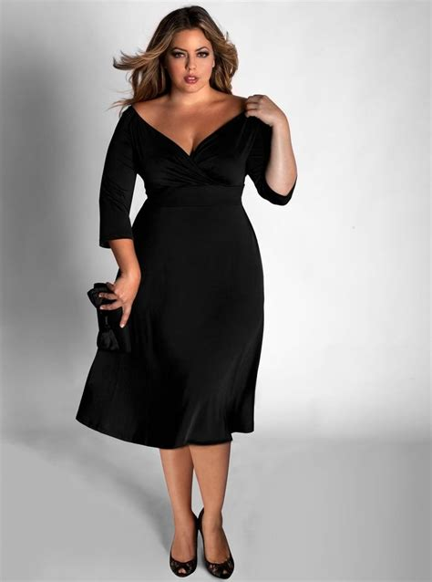 Style With The Myriad Of Dress Styles For Springsummer Whats A To Do Second City Style Fashion by 17 Best Ideas About Plus Size Black Dresses On