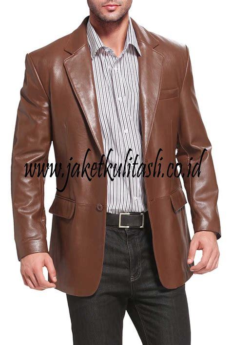 Jaket Kulit Pria Model Jas jaket kulit jas asli pria a442 jual jaket kulit asli
