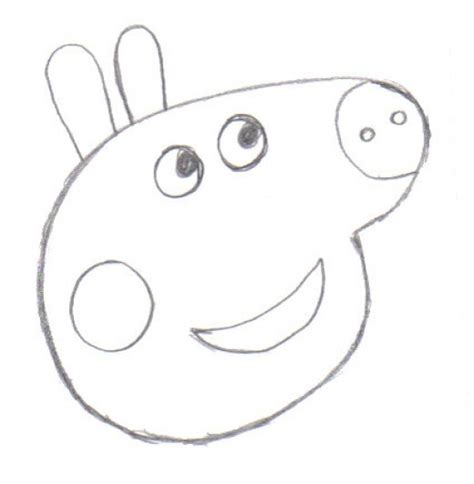peppa pig drawing templates how to draw peppa pig