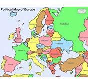 Political Map Of Europe  YourEuropeMapcom