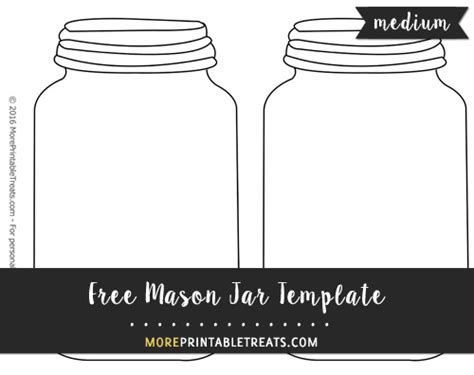 jar cut out template free jar template medium shapes and templates