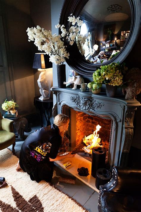 abigail ahern living room mix and chic home tour abigail ahern s and stylish home