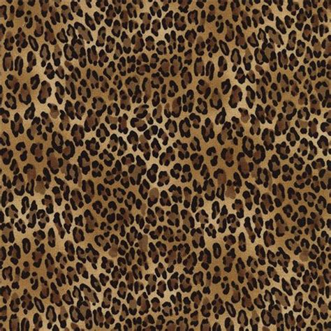 leopard print fabric 203518 brown black small leopard print fabric timeless