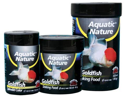 best sinking goldfish food aquatic nature goldfish sinking food 320ml poissons d