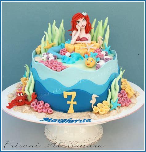 Ariel Birthday Cake Decorations by Ariel Cake Mermaid Frisoni Alessandra Studio Cake