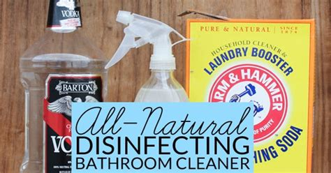 natural bathroom disinfectant natural bathroom disinfectant cleaner bren did