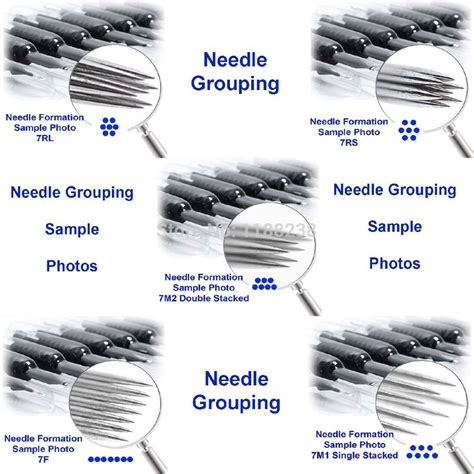 tattoo needle gallery for gt machine needle sizes