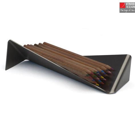porta penne portapenne di design in acciaio made in italy vitruvio