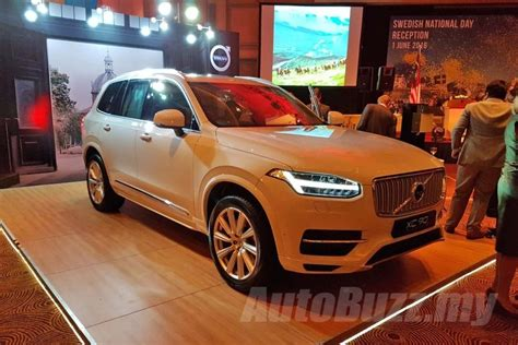 volvo xc90 price malaysia 2016 volvo xc90 t8 engine ckd launched priced at