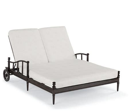 outdoor double chaise lounge cushions sorrento double outdoor chaise lounge with cushions patio